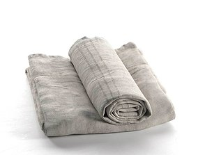 Towel Set 01 3D model