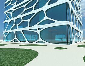 3D model Skyscraper future