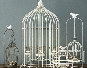 Birdcage Candleholders 3D
