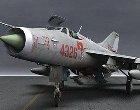 3D MiG-21 PFM Fishbed F for Poser