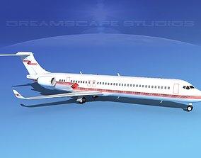 Comac ARJ21-900 Corporate 3 3D model