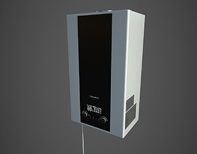 3D Gas water heater