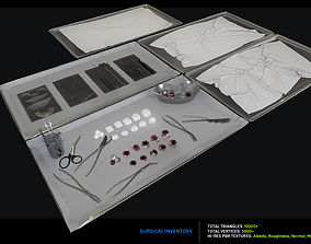 Surgical Inventory 3D asset