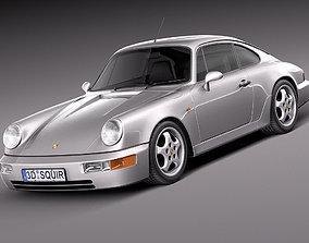 Porsche 911 964 Carrera 1990 3D