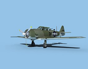 3D North American AT-6 Texan V02 USAAF
