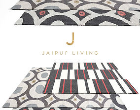 3D model Jaipur Living Rug Set 5