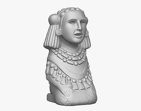 Chalchiuhtlicue Goddess of 3D printable model