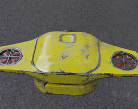 OLD DRONE 3D model