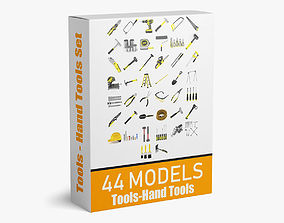 44 Models Machine Tools and Hand Tools Collection