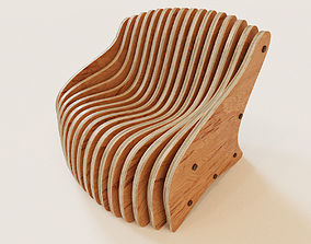 3D model Parametric armchair