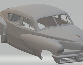 Tucker Torpedo 1948 Printable Body Car