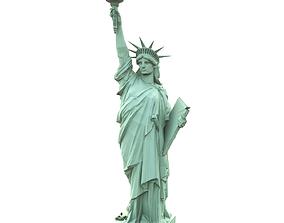 3D model Statue of Liberty statue