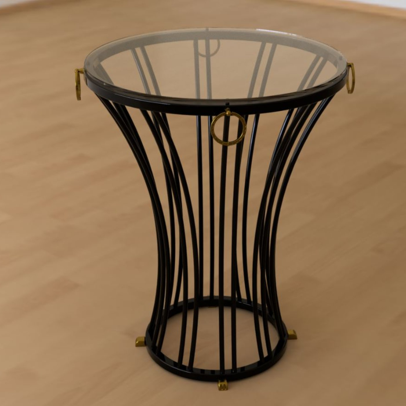 Roman round side table