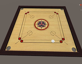 3D asset carrom board