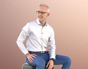 3D asset Jason 11251 - Best Ager Business Man Sitting In 1