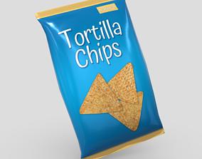 Tortilla Chips Bag 3D asset