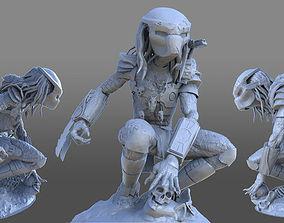 figurines Predator 3D model