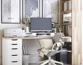 Office workplace 41 3D