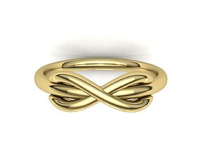 Tiffany infinity ring 3d model