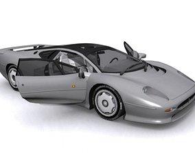 Jaguar XJ220 LE 3D asset