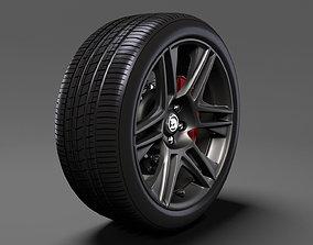 HSV Maloo R8 Black 2017 wheel 3D