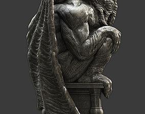 Cthulhu Statuette 3D