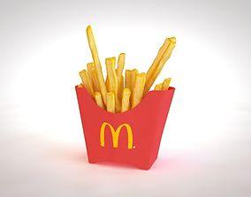 Fries 3D Models   CGTrader