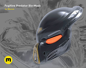 3D print model Fugitive Predator Bio-Mask 2018