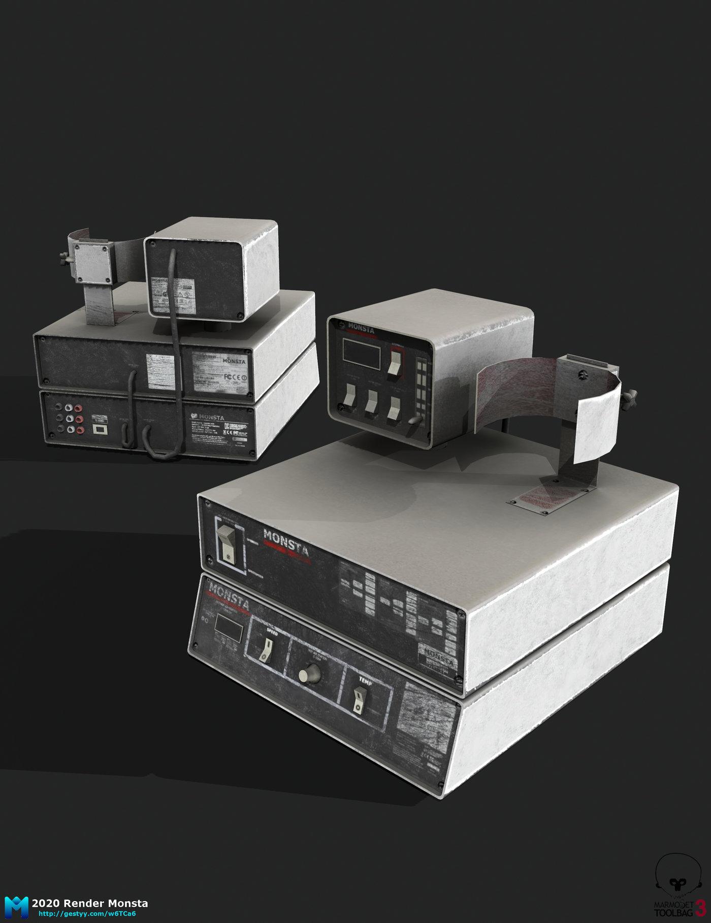 old pbr lab equipment