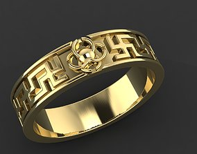 Ring 36 exclusive gracefully 3D print model