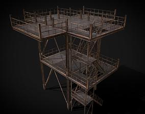 3D model Modular Metal Platforms Constructor Pack
