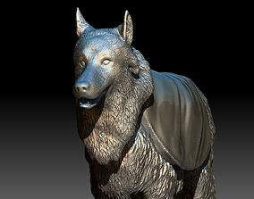 3D printable model Texas AM University Reveille Dog