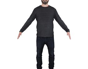 3D No429 - Male T Pose
