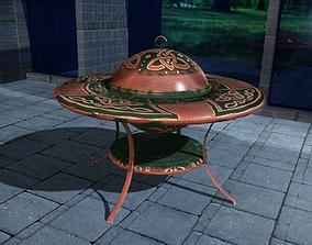 3D model Garden Patio Fire Pit