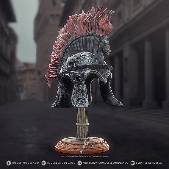 Roman helmet V02