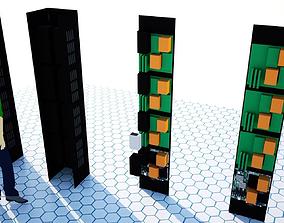 3D BtT tower and room server idea