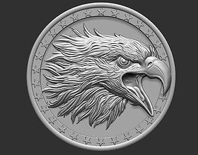 eagle head ornate 3D printable model