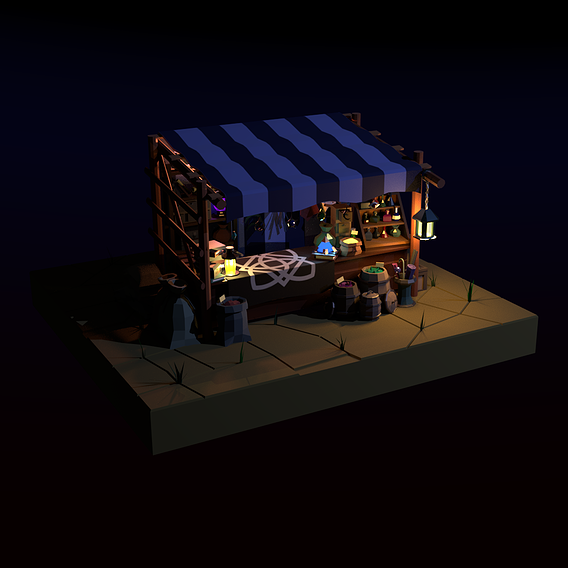 Magic marketplace