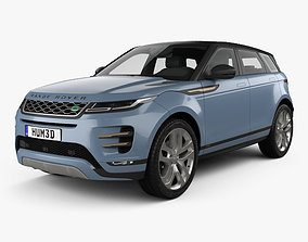 3D model Land Rover Range Rover Evoque R-Dynamic First 1