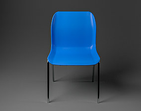 3D asset game-ready Simple Chair