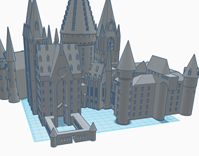 3d 3D printable model Hogwarts