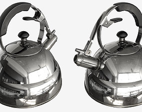 3D asset Whistling Kettle - 007