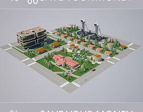 City 002 HIGHPOLY MODEL