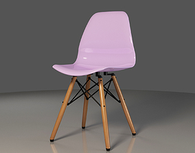 Polipropilen-EAMES-modern chair 3D model