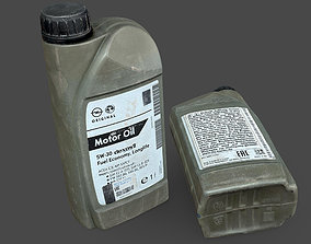 motor Motor Oil Bottle 3D