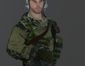 3D asset Soldier 1