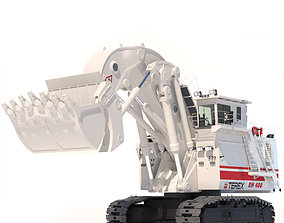 Excavator TEREX O K RH400 3D model