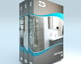 3D model Bathroom Collection 02
