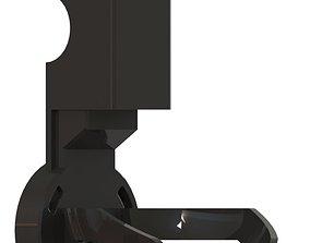 Amazon Echo Dot Wallmount 3D printable model