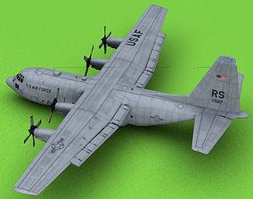 C-130 USAF 3D model